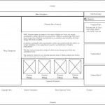 WW2Quartermaster Wireframes - Home Page