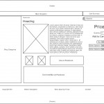 WW2Quartermaster Wireframes - Product Page